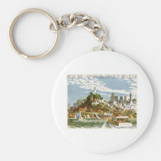 San Francisco Keychain