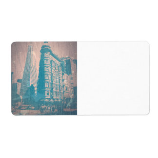 San Francisco Personalized Shipping Label