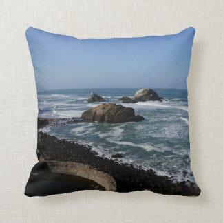 San Francisco Lands End #2 Pillow