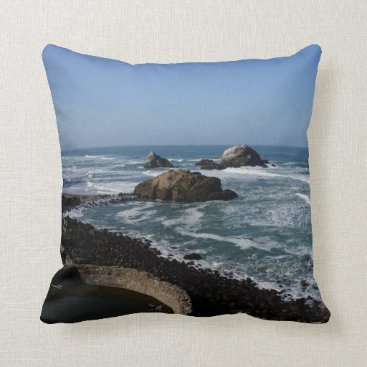 everydaylifesf San Francisco Lands End #2 Pillow