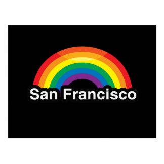 SAN FRANCISCO LGBT PRIDE RAINBOW -.png Postcards