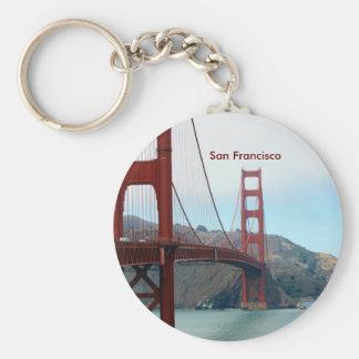 San Francisco Llavero Redondo Tipo Pin