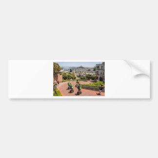 San Francisco Lombard St Car Bumper Sticker
