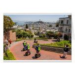 San Francisco Lombard St Card