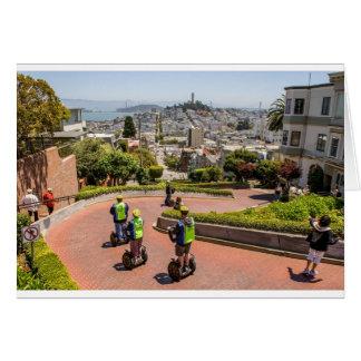 San Francisco Lombard St Greeting Card