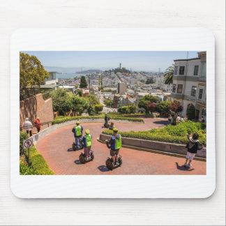 San Francisco Lombard St Mouse Pad