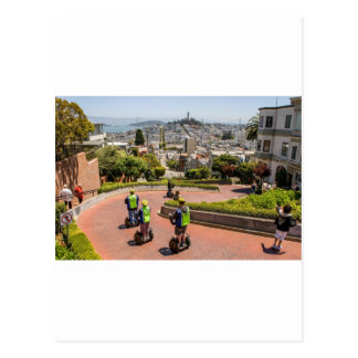 San Francisco Lombard St Postcard