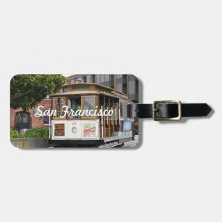 San Francisco Luggage Tag