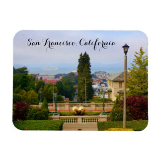 San Francisco Lyon Street Steps #4 Magnet