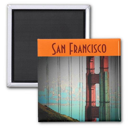 San Francisco Magnet - Customized