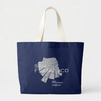 San Francisco Map Bag