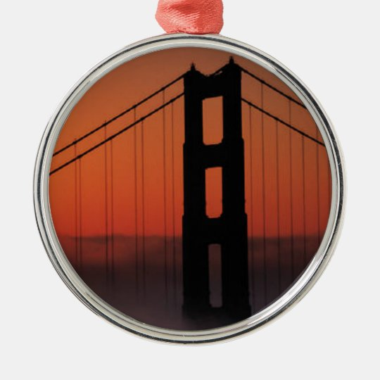 SAN FRANCISCO METAL ORNAMENT