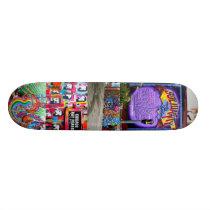 San Francisco Mission Street Art Skateboard