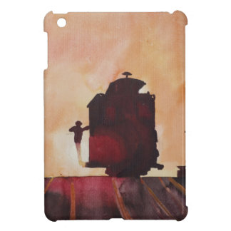 San Francisco mit Cable Car in sunset iPad Mini Cases