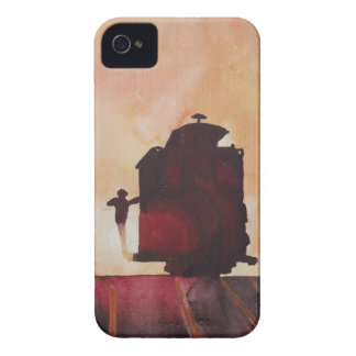 San Francisco mit Cable Car in sunset iPhone 4 Case-Mate Case