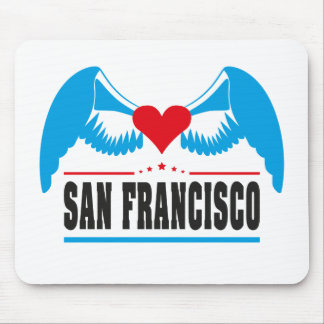 San Francisco Mouse Pad