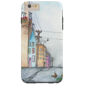 San Francisco Neighborhood Watercolor Tough iPhone 6 Plus Case