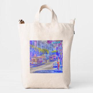 San Francisco neon Duck Bag