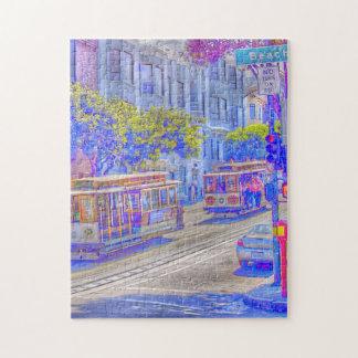 San Francisco neon Puzzles