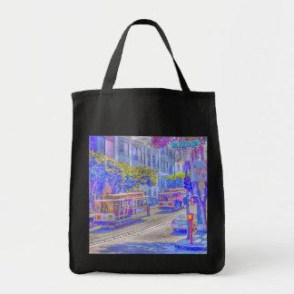 San Francisco neon Tote Bag