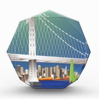 San Francisco New Oakland Bay Bridge Cityscape Award