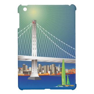 San Francisco New Oakland Bay Bridge Cityscape iPad Mini Cover