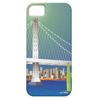 San Francisco New Oakland Bay Bridge Cityscape iPhone SE/5/5s Case