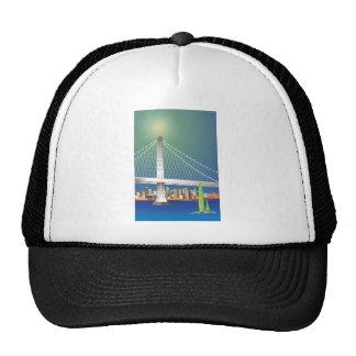 San Francisco New Oakland Bay Bridge Cityscape Trucker Hat