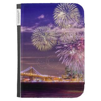 San Francisco New Year Fireworks Case For Kindle