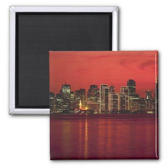 San Francisco Nitetime Skyline Magnet