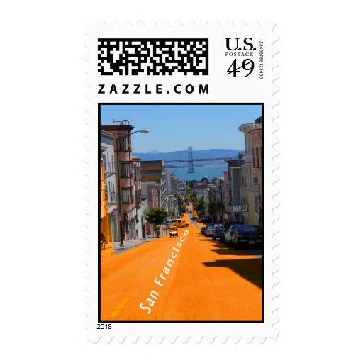 San Francisco, opinión de la calle del sello del p