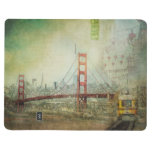 San Francisco Original Collage Art Pocket Journal