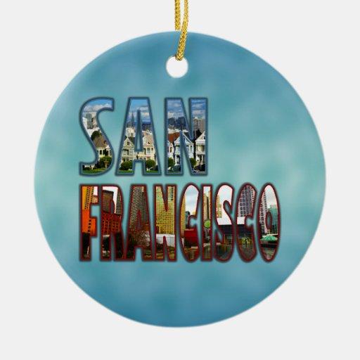 San Francisco Christmas Ornaments