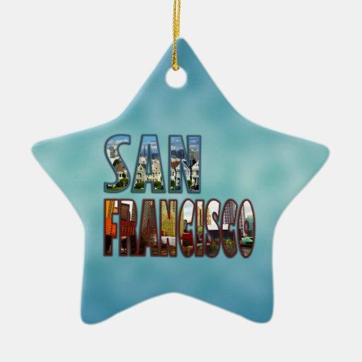 San Francisco Ornaments