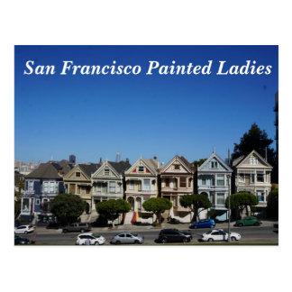 San Francisco Painted Ladies #3 Postcard