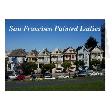 Beach Themed San Francisco Painted Ladies #4 Card