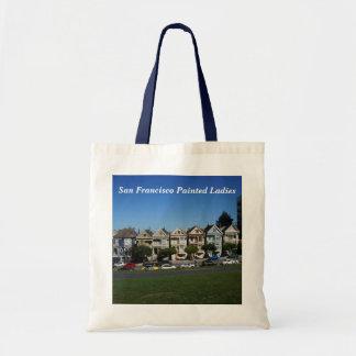 San Francisco Painted Ladies #4 Tote Bag