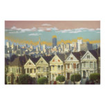 San Francisco Painted Ladies - Fine Art Print