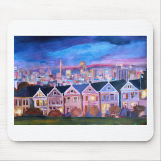 San Francisco  Painted ladies Mouse Pad