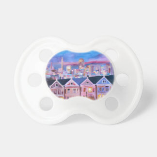 San Francisco  Painted ladies BooginHead Pacifier