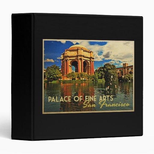 San Francisco Palace Fine Arts 3 Ring Binder