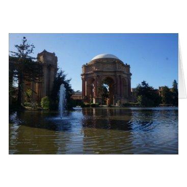 Beach Themed San Francisco Palace of Fine Arts #3 Card