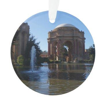 Beach Themed San Francisco Palace of Fine Arts #3 Ornament