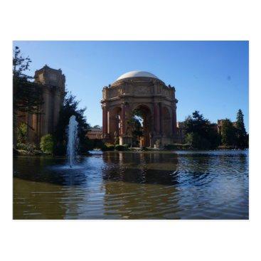 Beach Themed San Francisco Palace of Fine Arts #3 Postcard