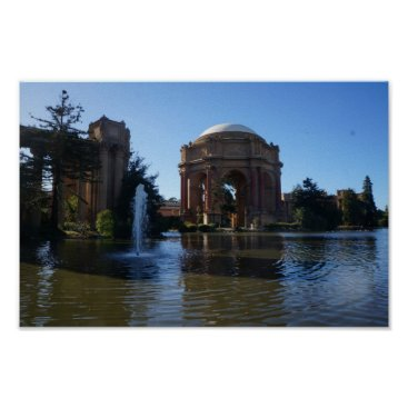 Beach Themed San Francisco Palace of Fine Arts #3 Poster