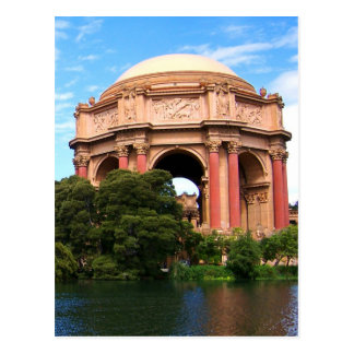 San Francisco Palace of Fine Arts Postcard