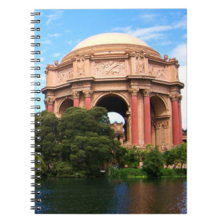 San Francisco Palace of Fine Arts Spiral Notebook