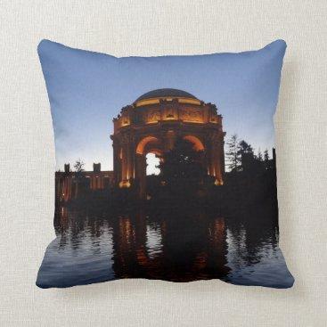 everydaylifesf San Francisco Palace of Fine Arts Throw Pillow