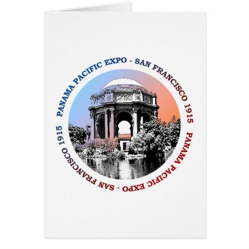 San Francisco Panama Pacific Expo Greeting Cards