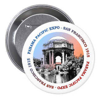 San Francisco Panama Pacific Expo Pinback Button